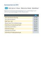 443 Sint-Job-in-'t-Goor - Maria-ter-Heide - Kalmthout - De Lijn