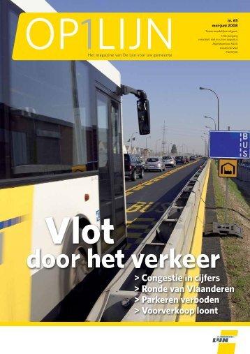 65 - Vlot door het verkeer (pdf - 762KB) - De Lijn