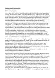 Vi betaler for vores egen undergang - Den Danske Forening