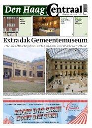 Extra dak Gemeentemuseum - Den Haag Centraal