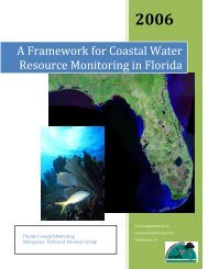 A Framework for Coastal Water Resource Monitoring in Florida