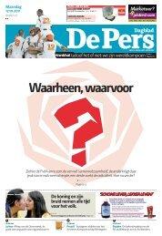 Maandag 17 oktober 2011 - De Pers