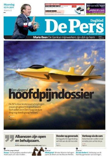 Maandag 7 november 2011 - De Pers