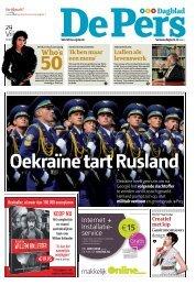 Oekraïne tart Rusland - De Pers