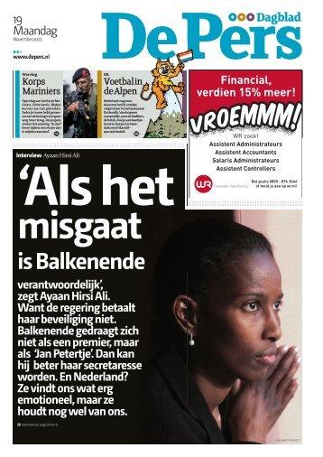 is Balkenende - De Pers