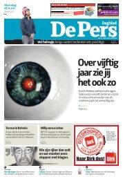 Maandag 28 november 2011 - De Pers