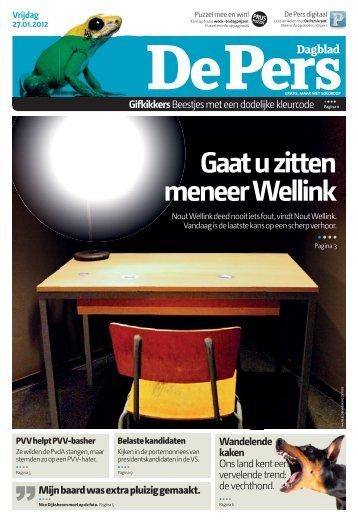Vrijdag 27 januari 2012 - De Pers