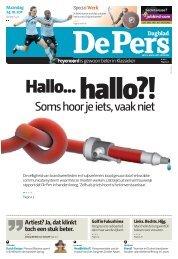 Maandag 24 oktober 2011 - De Pers