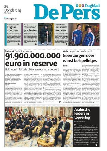 Dagblad De Pers