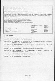 D Statuten gepubliceerd in de Bijlagen tot het Belgisch ... - De Plate