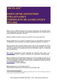 DE PLATE INDEX OP DE STRAATNAMEN.pdf