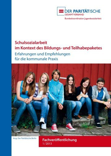 Schulsozialarbeit im Kontext des Bildungs- und Teilhabepaketes