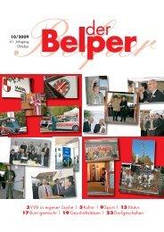Oktober 2009 - Der Belper