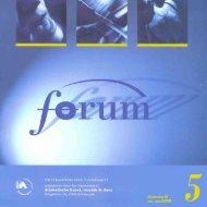 Forum - Tweemaandelijks tijdschrift - deSingel
