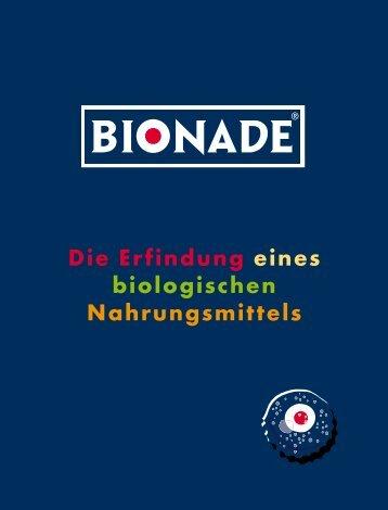 Die Herstellung von BIONADE. - Deutsche Schulsportstiftung
