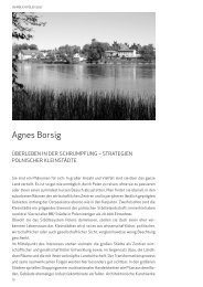 Agnes Borsig - Deutsches Polen Institut