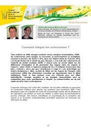 Comment intégrer les controverses ? - Ministère du Développement ...