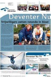 Vrijwilligers zetten rotonde in bloei - Gemeente Deventer