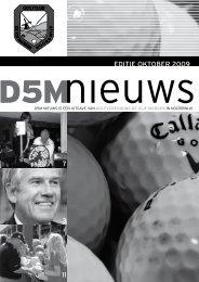 Oktober, 3e Editie 2009 - Golfclub De Vijf Margen