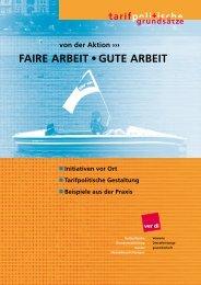 FAIRE ARBEIT • GUTE ARBEIT - DGB Bildungswerk Bayern