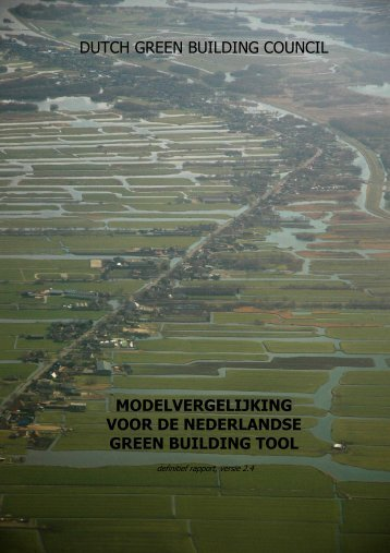 DGBC - rapport modelvergelijking v2.4 - Dutch Green Building Council