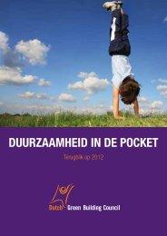 DuurzaamheiD in De pocket - Dutch Green Building Council