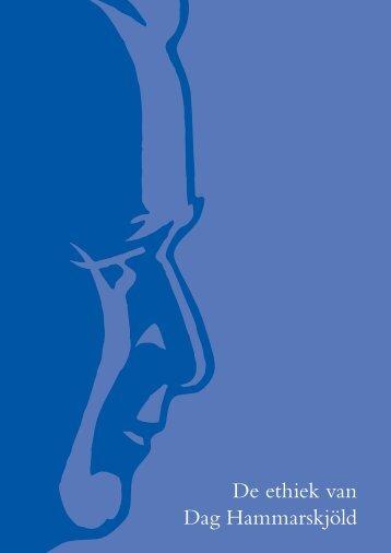 10 09 15 De ethiek van Dag Hammarskjold vert M Papma