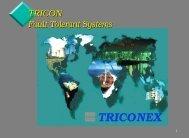 TRICON Fault Tolerant Systems