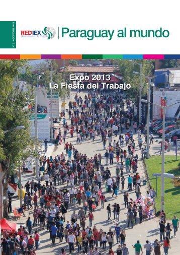 "Revista REDIEX ""Paraguay al Mundo"" 3-2013"