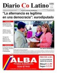 """""""La alternancia es legítima en una democracia"""": eurodiputado"""