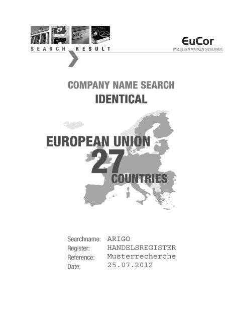 Die Informationsbestande Des Handelsregister 4
