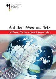 Leitfaden 'Auf dem Weg ins Netz' - Stiftung Digitale Chancen