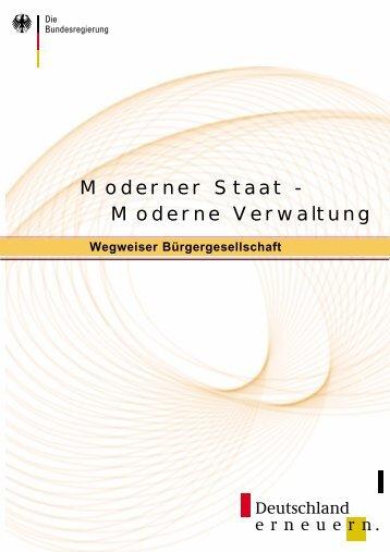 Moderner Staat - Moderne Verwaltung - Stiftung Digitale Chancen