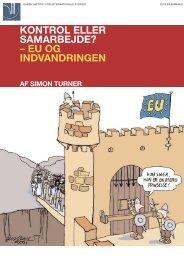 Kontrol eller samarbejde? EU og indvandringen (pdf, 528 KB) - DIIS