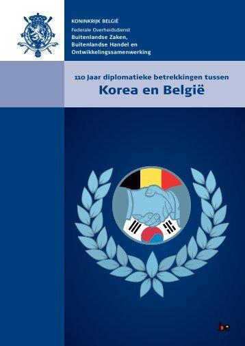 Korea en België - Buitenlandse Zaken