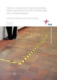 Bijlage Gespreksverslagen van expertmeetings - Divosa