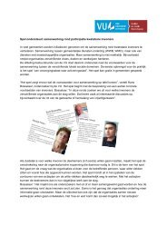 Spel ondersteunt samenwerking rond participatie ... - Divosa