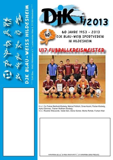 djk blau weiß hildesheim handball
