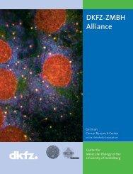 DKFZ-ZMBH Alliance - German Cancer Research Center