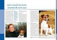 Jack Russel Terrier - Dansk Kennel Klub