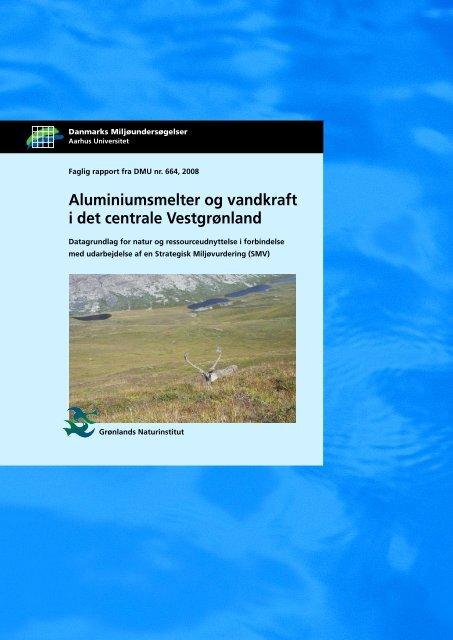 Aluminiumsmelter og vandkraft i det centrale Vestgrønland
