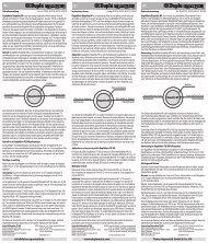 Istruzioni per l'uso / Biopellets NP - Dohse Aquaristik KG