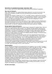 Nyhedsbrev fra Sjældenhedsudvalget. September 2009 Den 8 ...