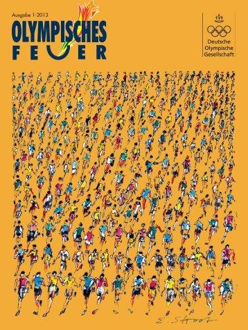 Ausgabe 1/2013 - Deutsche Olympische Gesellschaft