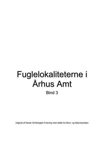 Århus amt - bind 3 - Dansk Ornitologisk Forening