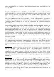 Nyt fra seneste møde ved FN, UNCITRALs ... - Domstol.dk