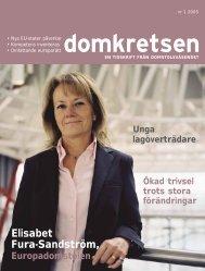 Domkretsen nummer 1 2005 - Sveriges Domstolar