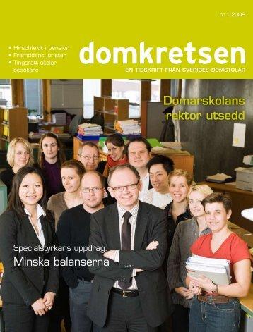 Domkretsen nr 1 2008 - Sveriges Domstolar