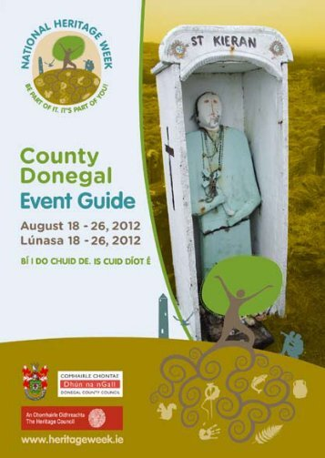 'Heritage Week' Event Guide 2012 - Donegal County Council