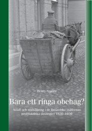 Bara ett ringa obehag? : avfall och renhållning i de ... - Doria